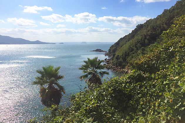 糸島市O様邸 宅地からの景色