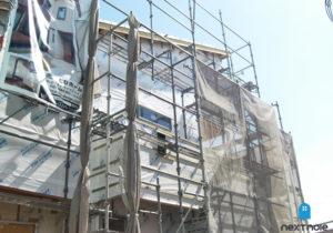 「ネクストの家」注文住宅事例:春日市M様邸 工事中 福岡の注文住宅ならネクストライフデザイン イメージ