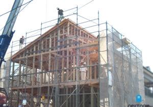 「ネクストの家」注文住宅事例:西区T様邸 工事中 福岡の注文住宅ならネクストライフデザイン イメージ