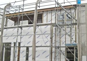 「ネクストの家」注文住宅事例:大野城市T様邸 工事中 福岡の注文住宅ならネクストライフデザイン イメージ