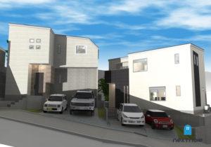 「ネクストの家」建売住宅:城南区片江 建売住宅 工事中 福岡の建売住宅ならネクストライフデザイン イメージ