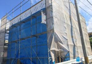 「ネクストの家」建売住宅:城南区七隈 建売住宅 木工事始まりました。 福岡の建売住宅ならネクストライフデザイン イメージ