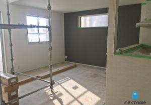 「ネクストの家」建売住宅:城南区片江 建売住宅 クロス工事が終わりました。 福岡の建売住宅ならネクストライフデザイン イメージ
