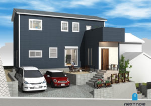 「ネクストの家」建売住宅:東区若宮 建売住宅 着工しました。 福岡の建売住宅ならネクストライフデザイン イメージ