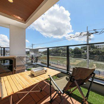 建売住宅で楽しむアウトドア イメージ