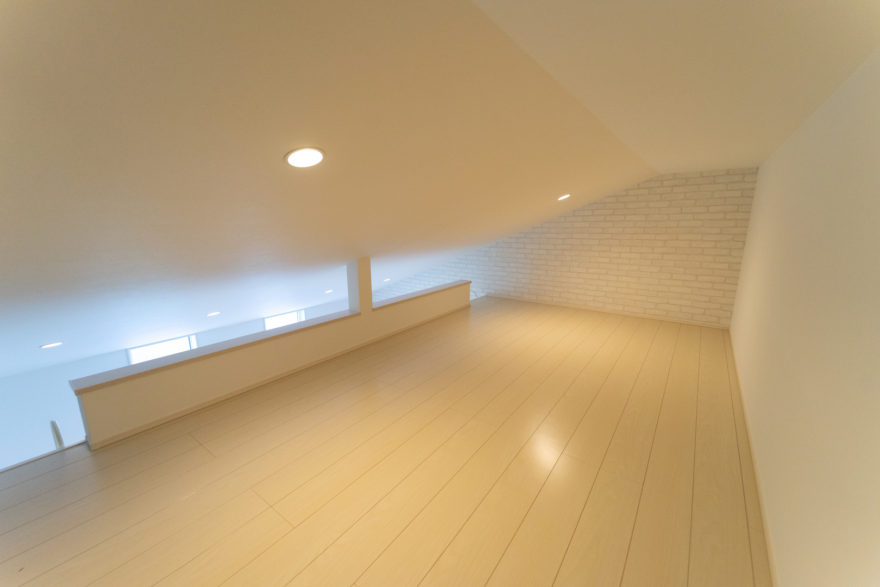 プラスαの家づくり「ロフトがある暮らし」 イメージ