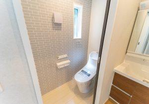 トイレ空間に最適なクロス・フローリング選びのポイント イメージ