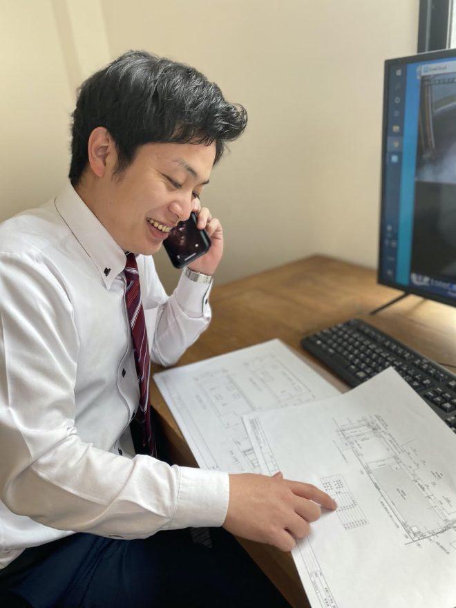 【スタッフ紹介】営業担当の鶴林史也です。 イメージ